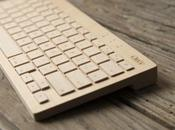 clavier bois pour PCs, smartphones tablettes