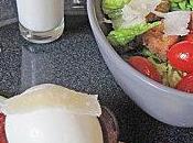 Asperges poêlées, oeuf mollet pancetta grillée, sauce salade parmesan