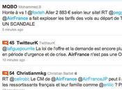 Cata réseaux sociaux d'Air France