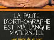 faute d'orthographe langue maternelle