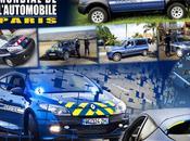 gendarmerie salon mondial l'automobile 2012