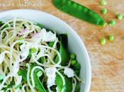 Capellini ricotta légumes croquants, aussi bons chauds froids