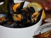 Moules marinières curry, citron estragon