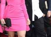 Jennifer Lopez shopping famille dans rues Paris