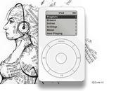 Nostalgie 1ier iPod retour dans votre navigateur