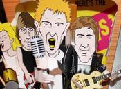 Diorama 'Sex Pistols' Gary Willis