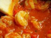 Crevettes sauce créole épicée cajun