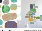 Stickers muraux Verdant Flow: l'art esthétique ludique...