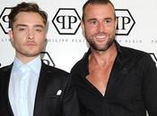 Philipp Plein shoot beau gosse 'Gossip Girl'