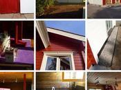 Väriä puutaloon couleurs pour maison bois