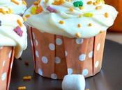 suis droguée Cupcakes Potiron leur glaçage Crème Marshmallows Cannelle (vegan)