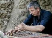musicien biélorusse parc Güell, Barcelone