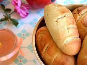 Petits pains briochés sans