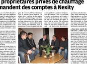 Article dans Parisien (cahier Seine-Saint-Denis) chauffe pour Nexity