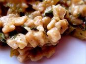 Crozets légumes comme risotto