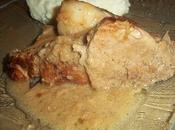 Rouelle porc cidre