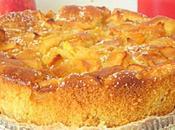 Gâteau pommes sans oeufs facile