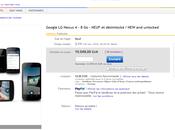 Nexus prix records eBay