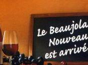 Beaujolais nouveau arrivé cette nuit partout dans monde