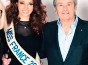 Miss France 2013 Interview Alain Delon