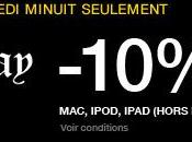 Black Friday remise produits Apple (MacBook, iPad, iPod) durant Fnac