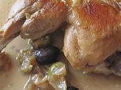 Cuisses poulet olives