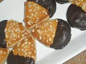Petits fours Noël chocolat amandes