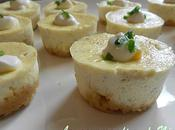 Mini-cheesecakes salé