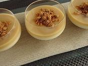 Panna cotta sauce caramel beurre salé