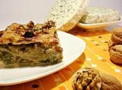 Lasagnes semi-complètes oeufs frais, poireaux, fourme d'Ambert fruits oléagineux
