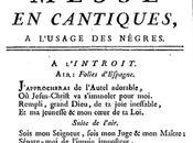 Guadeloupe Attitude vous présente Musique condition servile Antilles françaises XVIIIème siècle