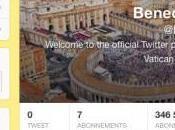 pape Benoît débarque Twitter décembre
