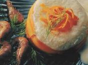 Mousseline rascasse turban carotte gingembre frais