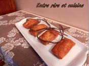 Mini-cakes noisettes, miel bananes