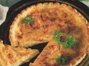 Quiche moelleuse fromage Salers jeune jambon d'Auvergne
