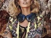 Mode Karolina Kurkova pour Cavalli