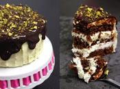 Gâteau chocolat épicé mousseline légère vanille