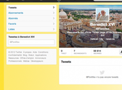 premier tweet Benoit XVI, @Pontifex