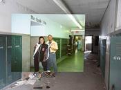 Photographies Avant Après dans l'école abandonnée Chicago