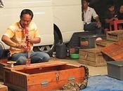 Thaïlande. Udonthani. charmeurs serpents