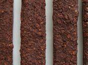 barres chocolatées allégées noix céréales
