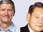 Samsung change stratégie face Apple