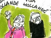 """Hollande Algérie accueil sous """"vivas"""""""