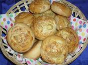 Petits pains olives fromage kiri