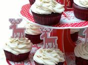 almost Salutations Velvet Cupcakes with Cream Cheese Frosting Vegan Friendly) presque soleil glaçage fromage frais vegan)