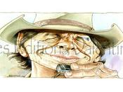 Wanted Caricature Western