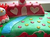 Derniers gâteaux pâte sucre