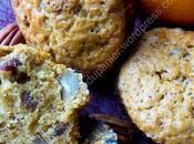 Muffins hivernaux (carottes, pécans, raisins cannelle) Winter (Carrot, Pecan, Raisin Cinnamon)