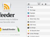 Feeder: micro lecteur pour Google Chrome