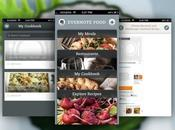 Evernote Food mémoire repas iPhone...